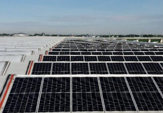 zonnepanelen installatie in de tuinbouw