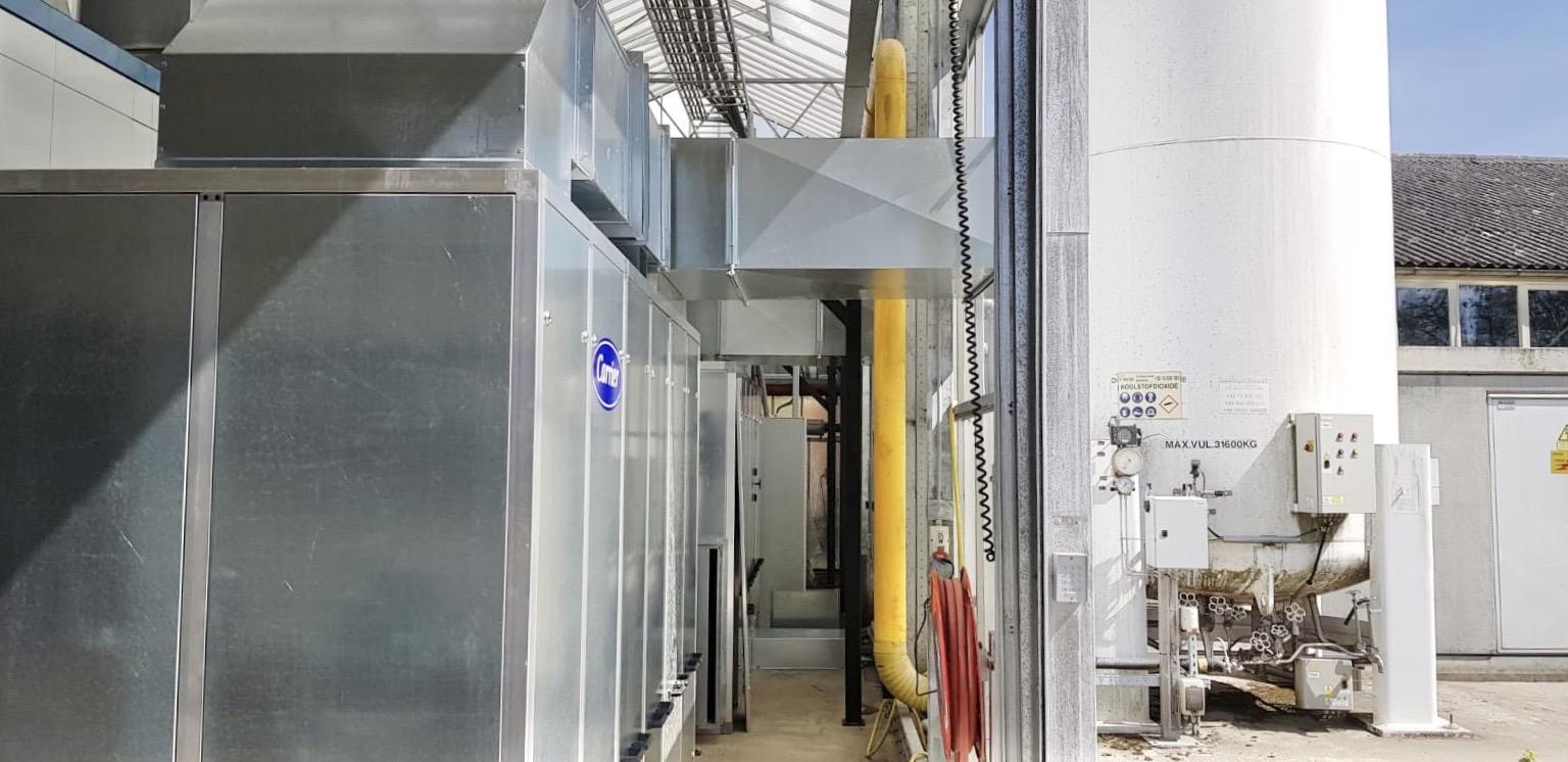 Warmte installatie bij Carlo Zwinkels