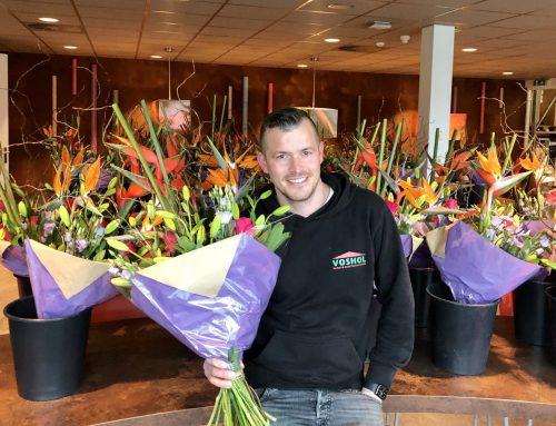 Bloemetje voor collega's #FlowerBoostChallenge