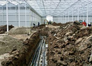 Installatie tuinbouw project bij Karma plants