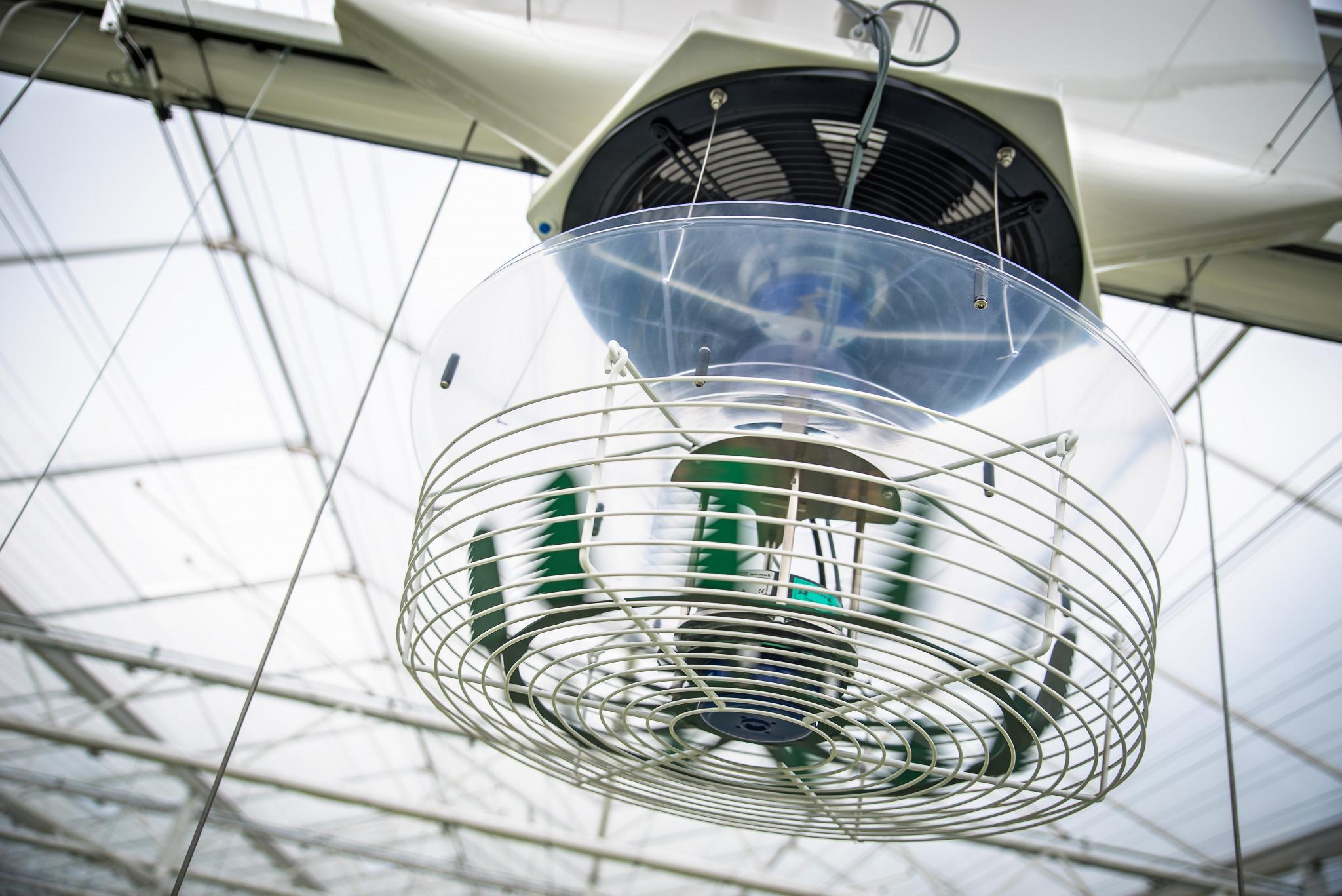 Verticale ventilator van Hinova de Hinovator en VantilationJet