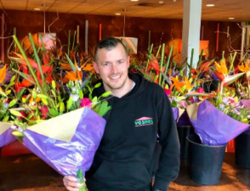 Bloemetje voor collega's #FlowerBoost