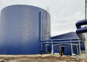 Isolatie warmte opslag tank kwekerij voorhof