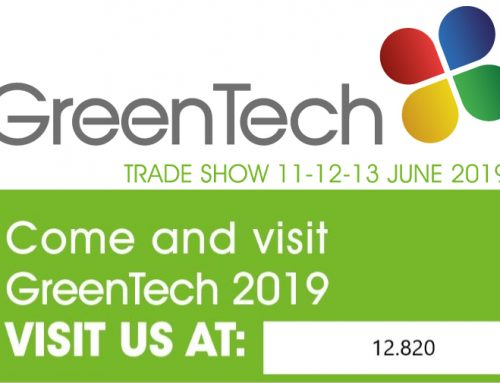 Visit us at GreenTech 2019